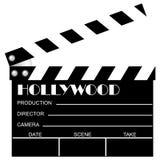 clapboard κινηματογράφος Στοκ φωτογραφίες με δικαίωμα ελεύθερης χρήσης