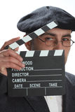 clapboard κινηματογράφος Στοκ Εικόνα