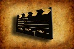clapboard κινηματογράφων Στοκ εικόνες με δικαίωμα ελεύθερης χρήσης