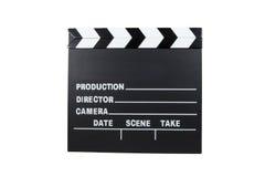 Clapboard κινηματογράφων Στοκ Εικόνα