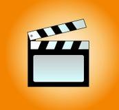 clapboard ταινία Στοκ εικόνες με δικαίωμα ελεύθερης χρήσης