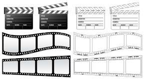 clapboard ταινία Στοκ εικόνα με δικαίωμα ελεύθερης χρήσης