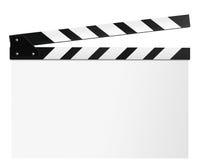 Clapboard, шифер фильма стоковое фото