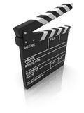 Clapboard royalty free illustration