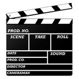 clapboard royaltyfri illustrationer