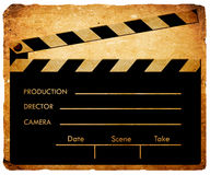 Clapboard Royalty Free Stock Image