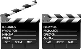 Clapboard Stock Photography