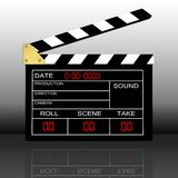 Clapboard Stock Photo