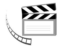 Clapboard Royalty Free Stock Photography