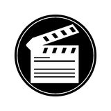 clapboard design Royalty Free Stock Photography