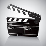 clapboard film Fotografia Stock