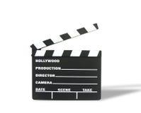 clapboard film Zdjęcia Royalty Free