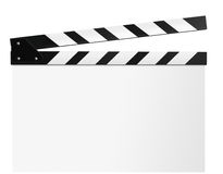 Clapboard, film slate Stock Photo