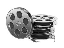 Clapboard i Film Nawijamy z Filmem. Fotografia Stock