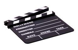 clapboard movie Στοκ Φωτογραφία