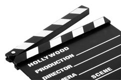 clapboard movie Στοκ φωτογραφίες με δικαίωμα ελεύθερης χρήσης