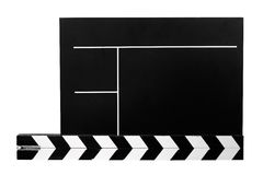 Clapboard w/ Path Stock Photo