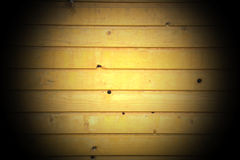 The clapboard wall Stock Image