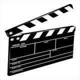 clapboardfilm vektor illustrationer