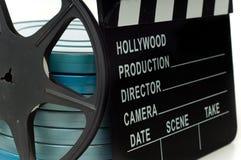clapboardfilm arkivbilder