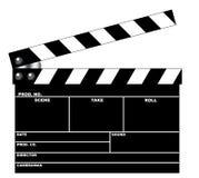 clapboardfilm Fotografering för Bildbyråer