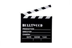 clapboardhollywood film arkivbilder