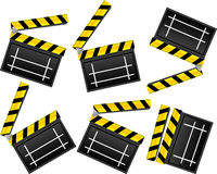 Clapboards Royalty Free Stock Images