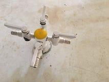 Clapet à gaz Photo libre de droits