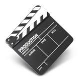 Clapet de film Photographie stock libre de droits