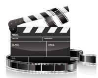 Clapet et film Images stock