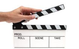 Claping Film Lizenzfreie Stockfotografie