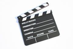 Clapp de la película Fotos de archivo libres de regalías
