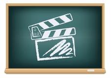 Clapper κινηματογράφων πινάκων πίνακας Στοκ Εικόνες