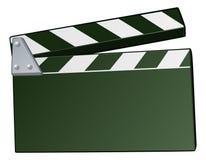Clapper κινηματογράφων υπόβαθρο πινάκων Στοκ φωτογραφίες με δικαίωμα ελεύθερης χρήσης