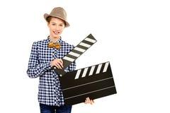 Clapper πίνακας στοκ φωτογραφίες με δικαίωμα ελεύθερης χρήσης