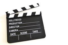 Clapper ταινιών πίνακας Στοκ φωτογραφίες με δικαίωμα ελεύθερης χρήσης