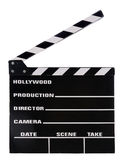 clapper χαρτονιών κινηματογράφο& Στοκ φωτογραφίες με δικαίωμα ελεύθερης χρήσης