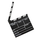 Clapper χαρτόνι Στοκ Εικόνες