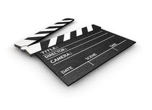 Clapper board Royalty Free Stock Image