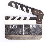 Clapper-board Stock Photo