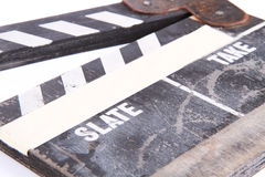 Clapper-board Stock Photography