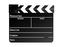 Clapper board 2 Stock Image