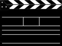 Clapper board. Or slate black board Royalty Free Stock Image