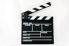 Clapper board Stock Images