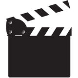 Clapper Board Blank Royalty Free Stock Photography