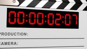 Clapper board stock video