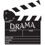 Clapper Board Drama Royalty Free Stock Photos