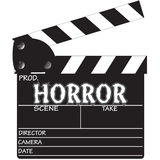 Clapper Board Horror Stock Photography