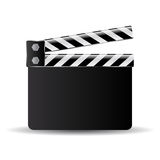 Clapper board icon Stock Photo