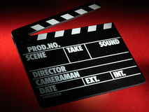 Clapper board Royalty Free Stock Photos
